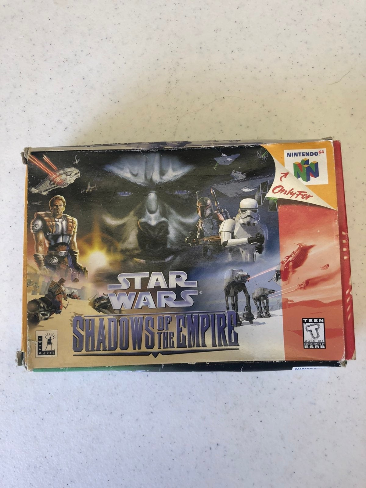 Star wars shados of the empire n64