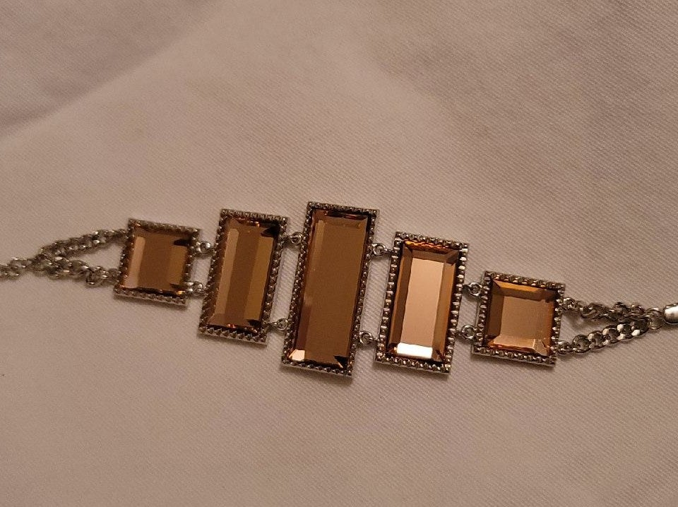 Park Lane Peach Bellini Bracelet