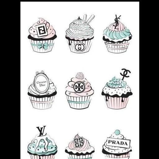 Cupcake Fashion Art
