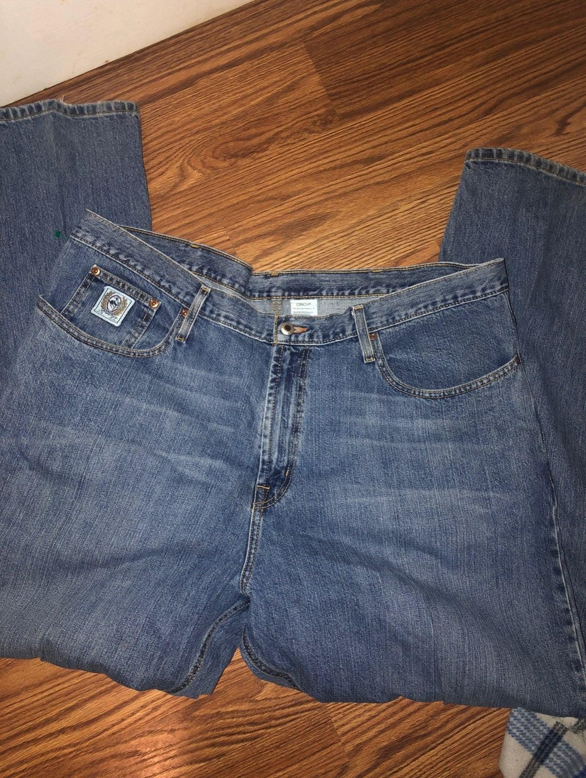 Cinch Jeans Size 44X34