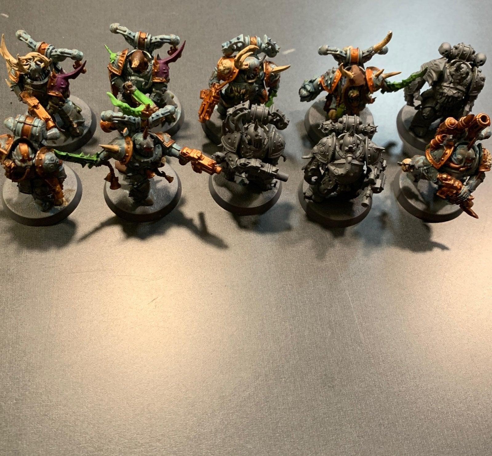 Warhammer 10 plauge marines