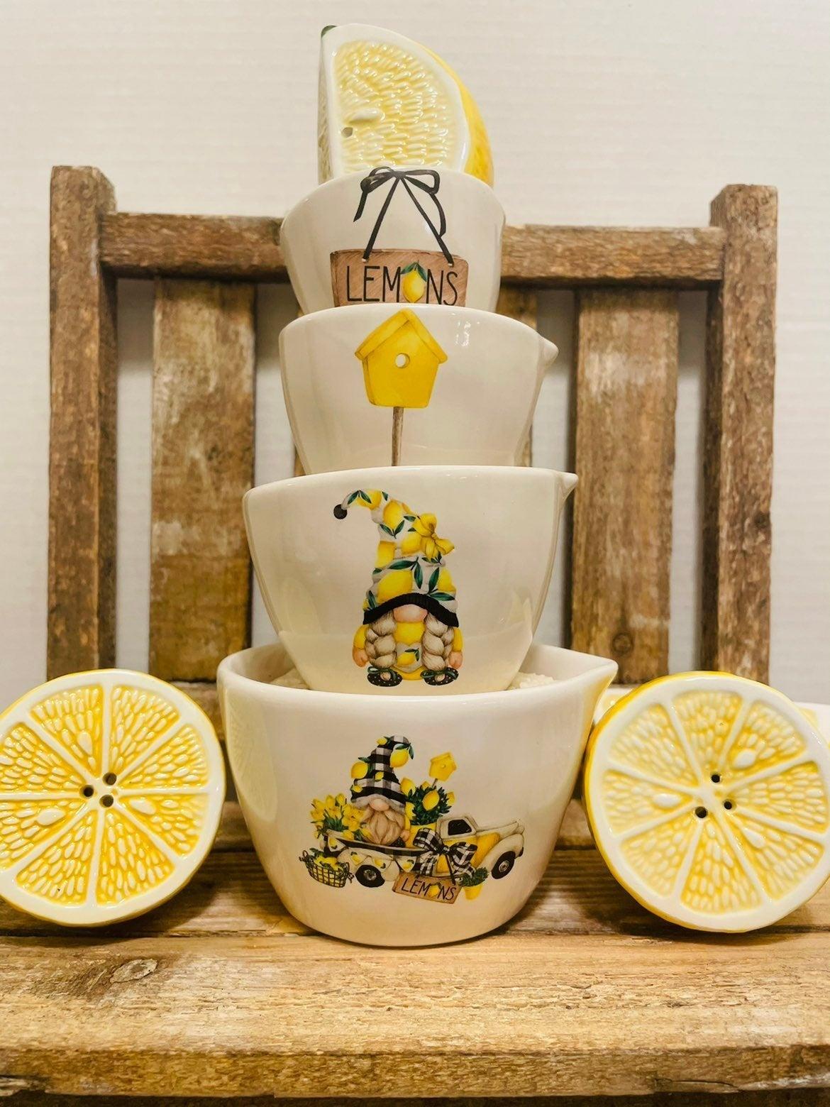 Lemon Truck Decals Set