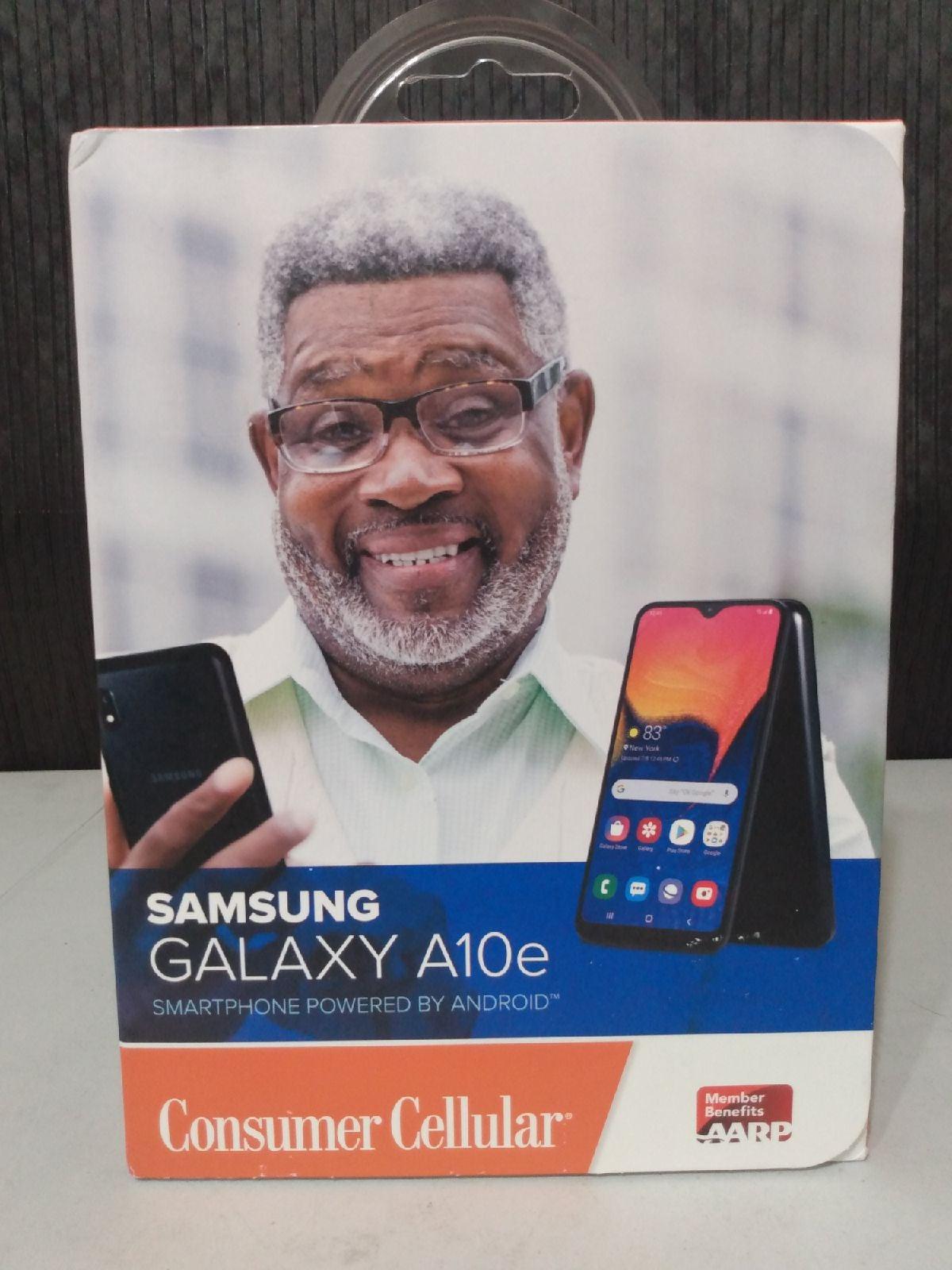 Consumer Cellular Samsung Galaxy A10e Sm