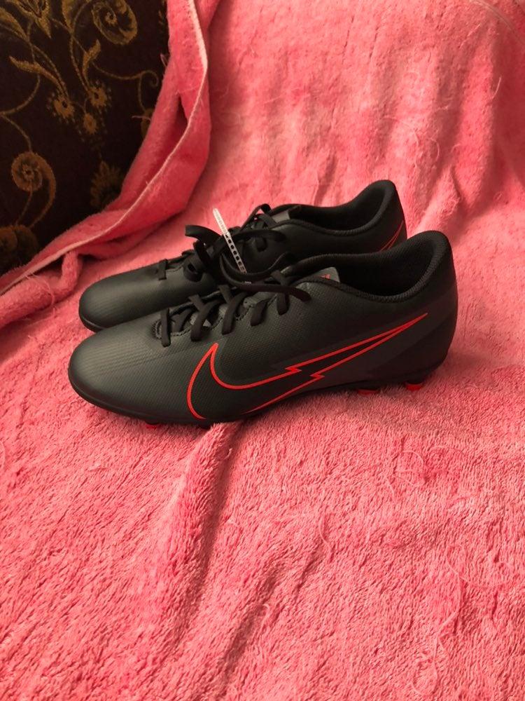 Black Nike Mercurial Soccer Cleats Sz7.5