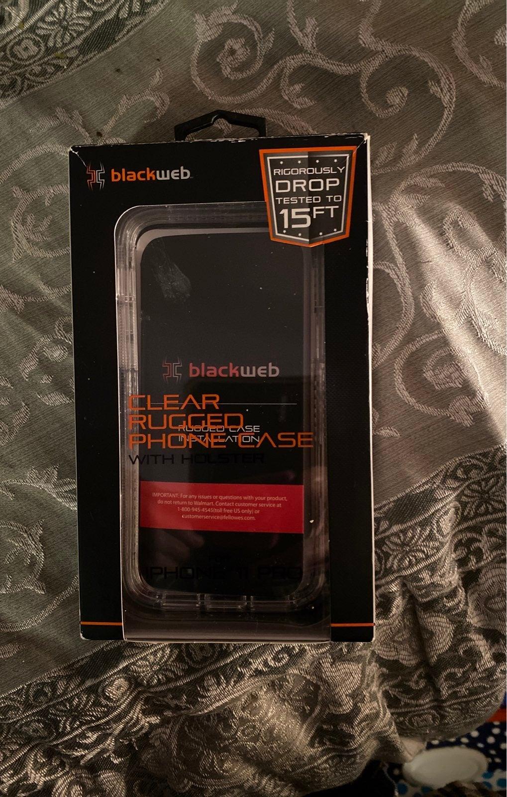 iPhone 11 Pro clear phone rugged phone c