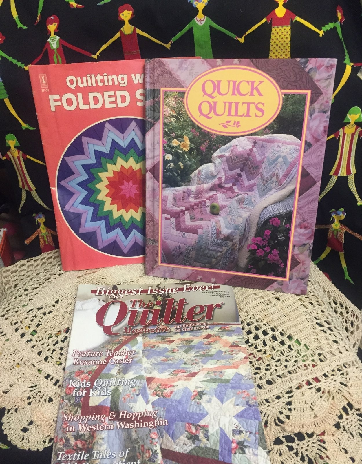 Quick Quilts book and stencils and more
