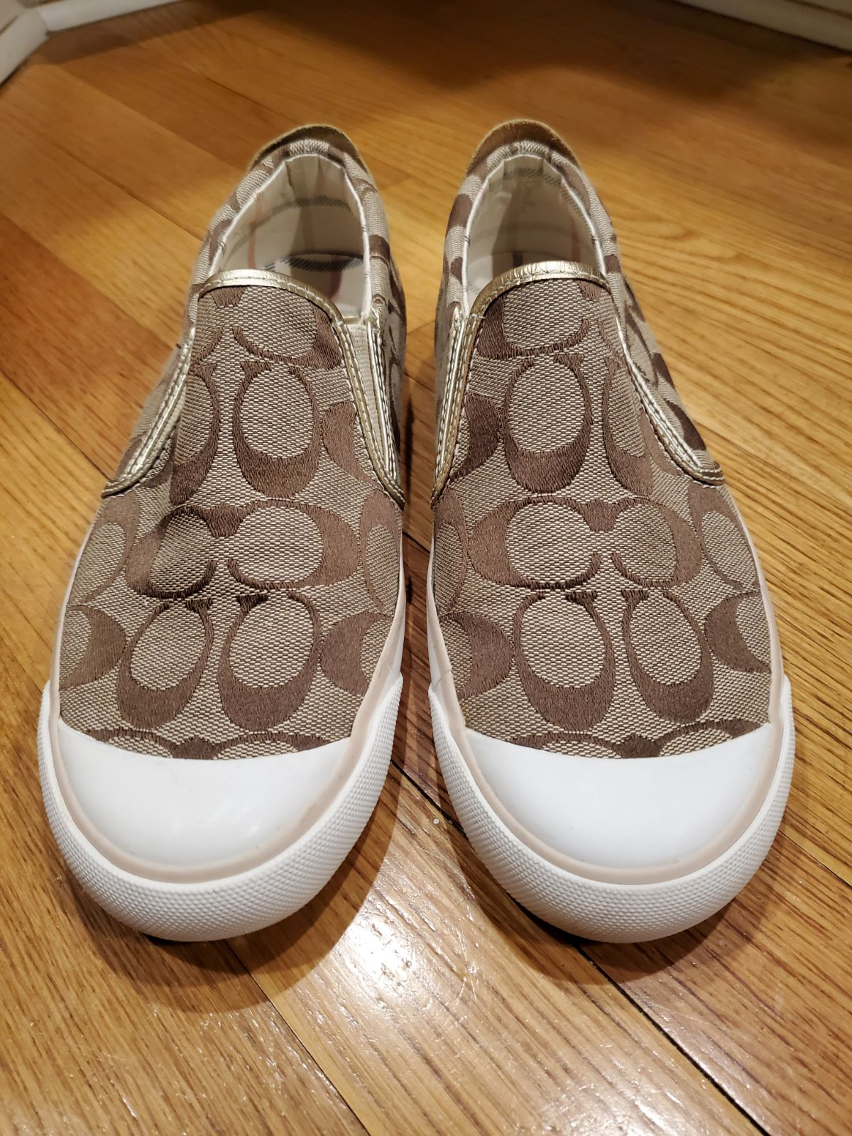 Coach BEALE Slip on shoes 6.5M womens