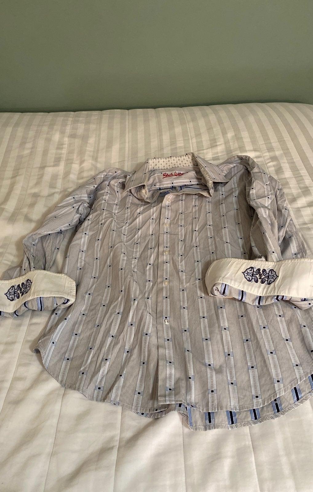 Robert graham button up shirt