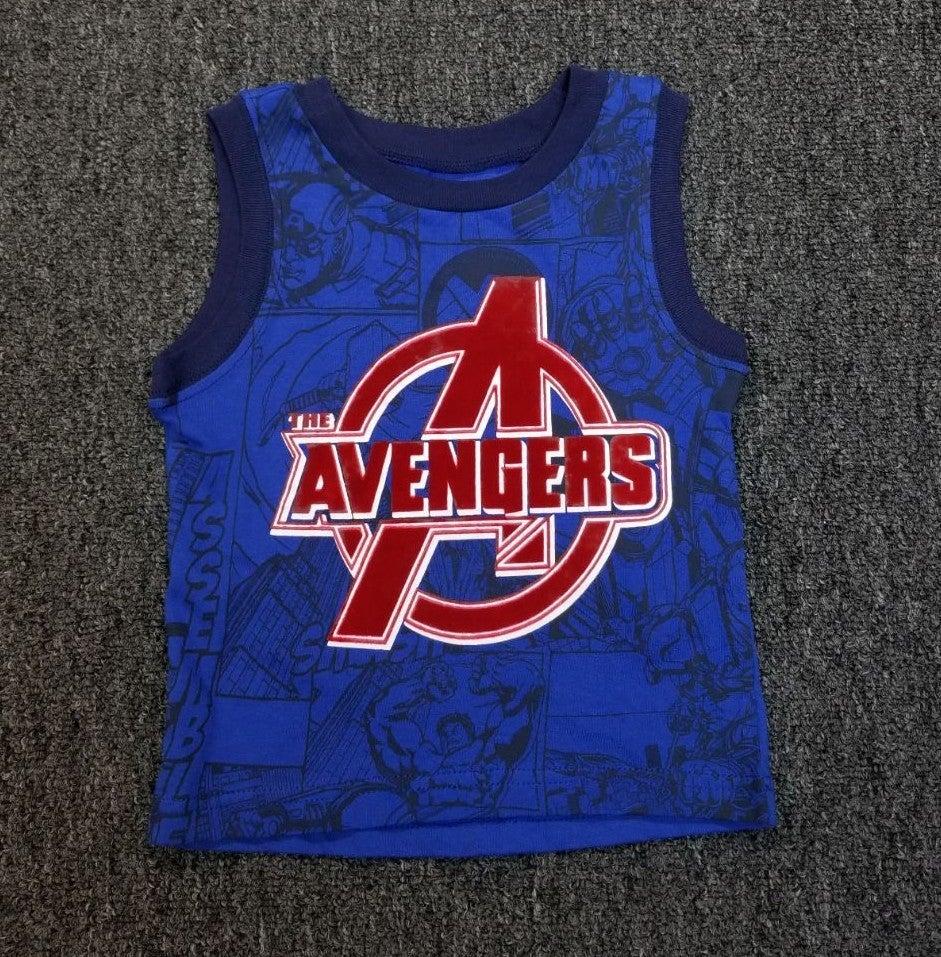 Boys Avengers tank top 12 months
