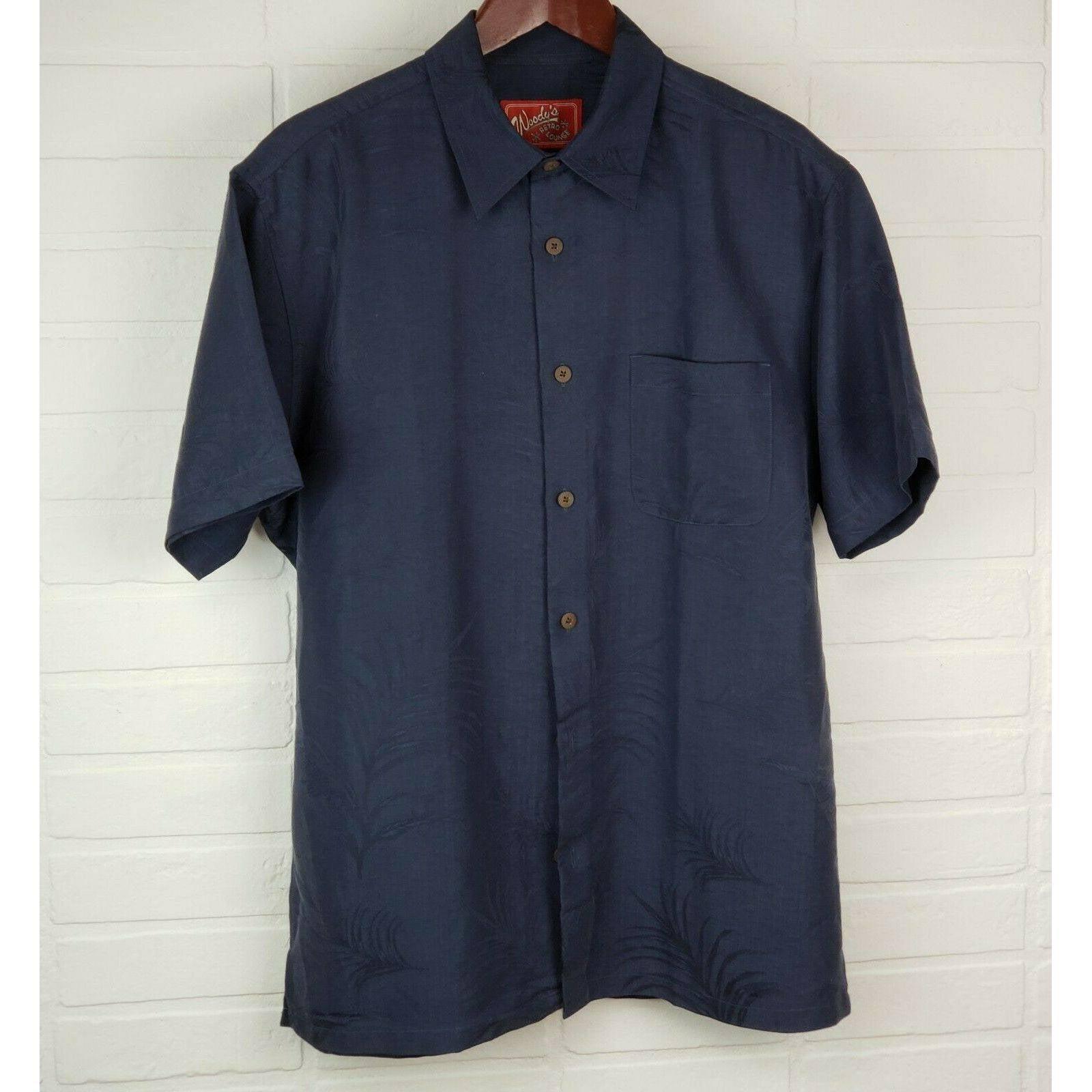 Woodys Retro Lounge M Hawaiian Shirt