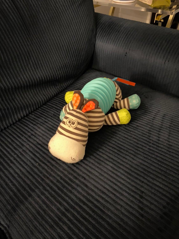 B Toys Zebra Accordian