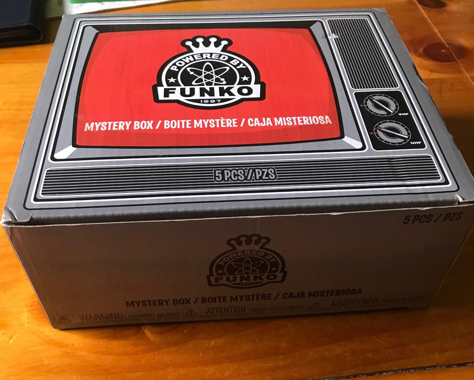 Funko Pop Mystery Box 5 Pcs