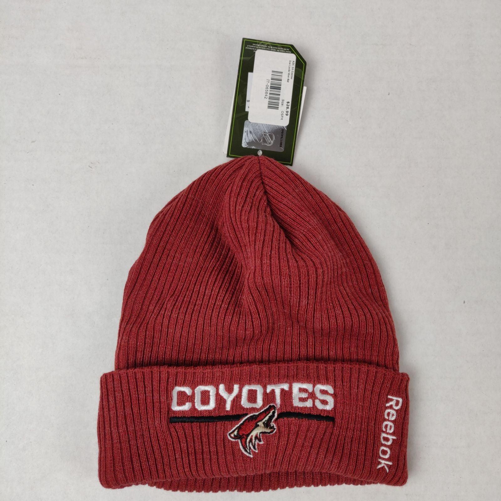 Arizona Coyotes Hockey Reebok Beanie