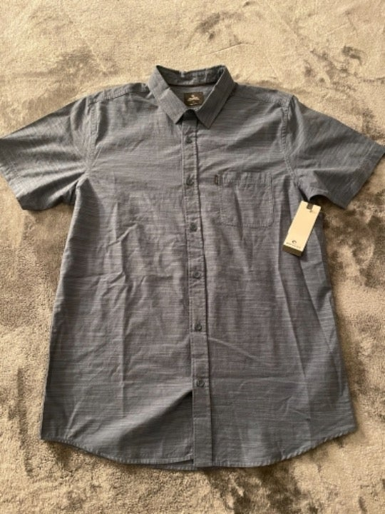 Men's Rip Curl Collared Button Shirt M