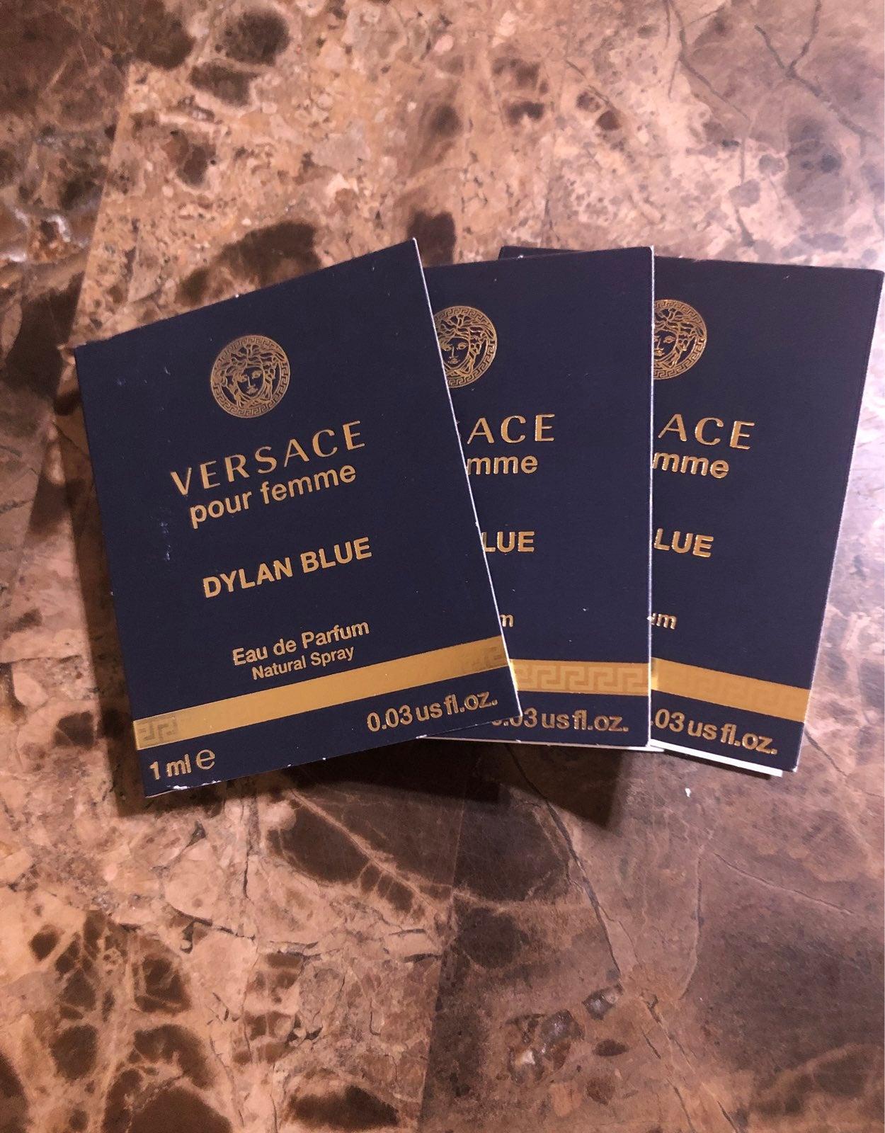Versace pour femme dylan blue x4