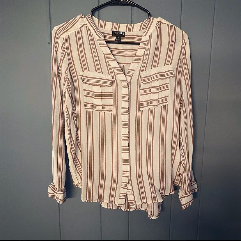 Blouse striped work