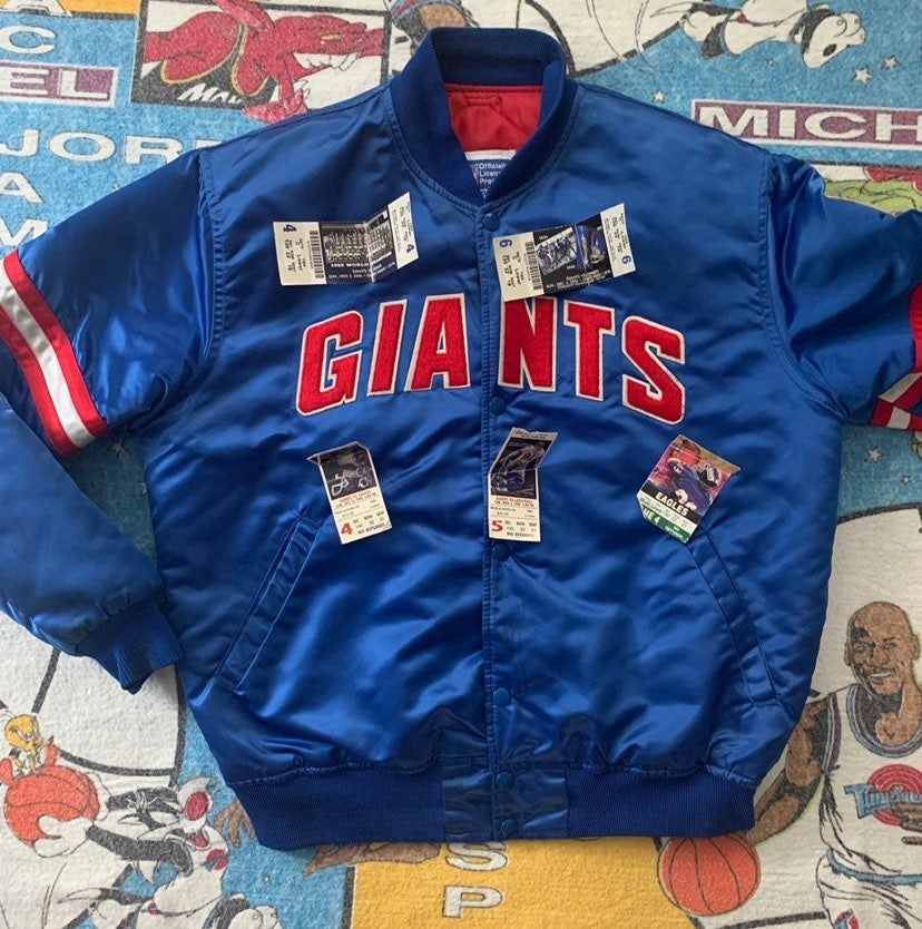 New York Giants Vintage Starter Jacket