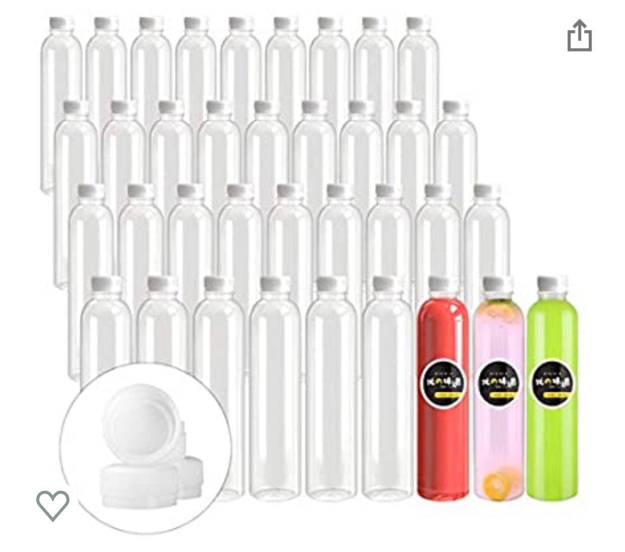 Empty Plastic Juice Bottles