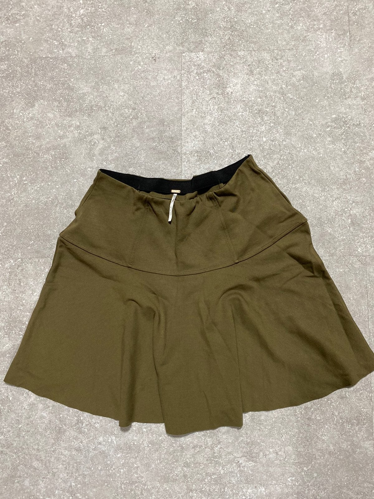 Free People Olive Green Skirt