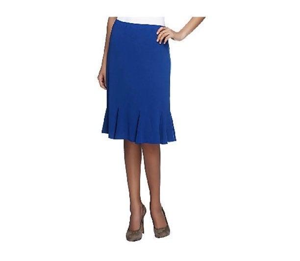 Susan Graver brown skirt Size 3X