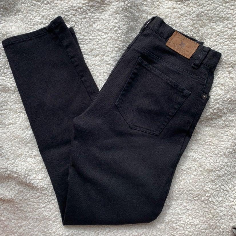 Ralph Lauren black denim jeans size 4