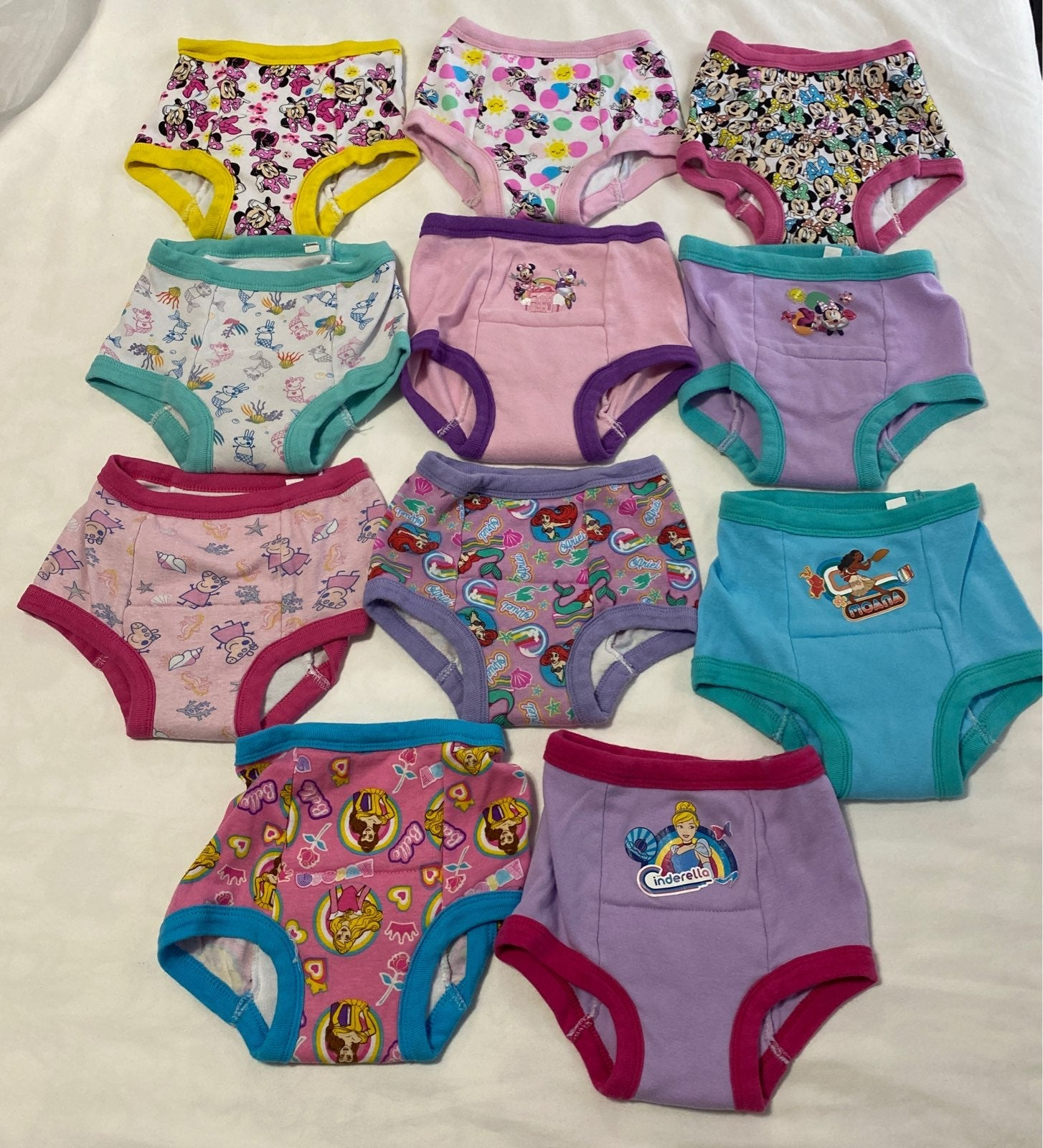 Training Underwear bundle, size 3t