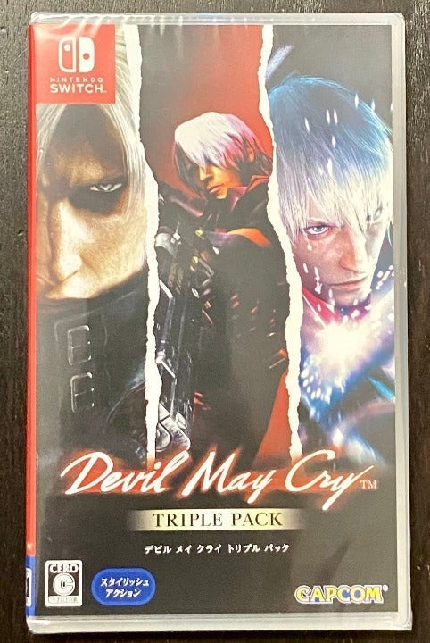 Switch Devil May Cry Triple Pack