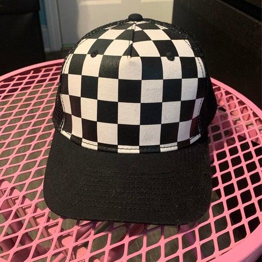 Checkered Hat