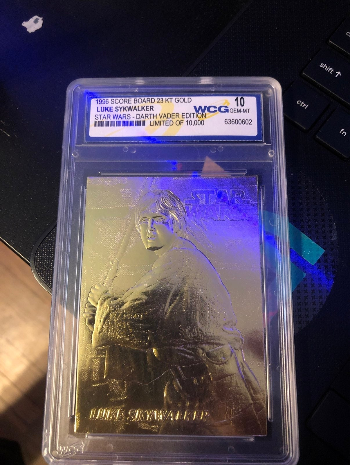 Luke Skywalker Limited edition 23KT GOLD
