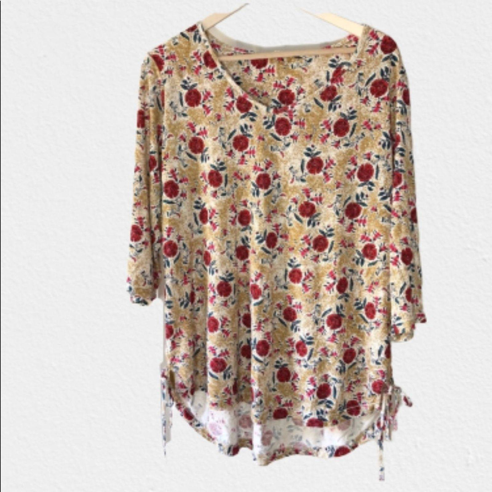Fat Face Floral Side Tie Tunic-14