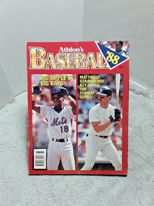 Athlon 1988 Baseball Magazine