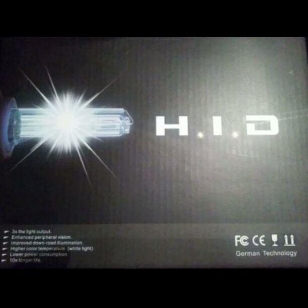 H1 HID LIGHTS 3k, 6k, 8k, 10k, 12k