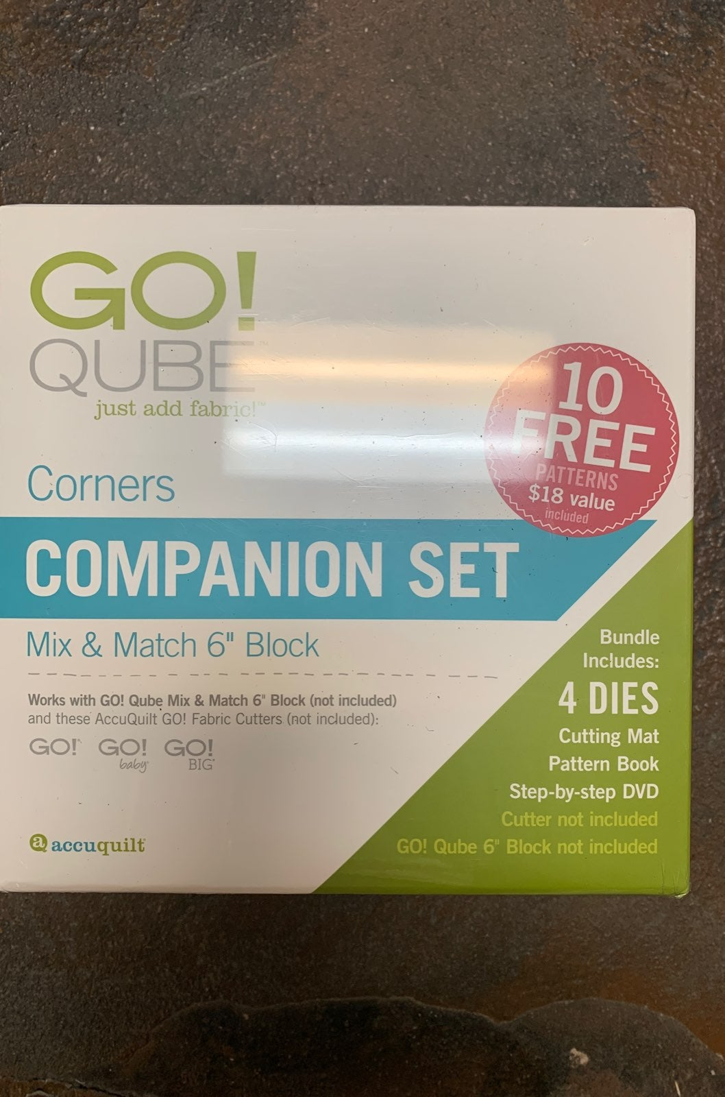 "Accuquilt GO! Mix & Match 6"" Corners"