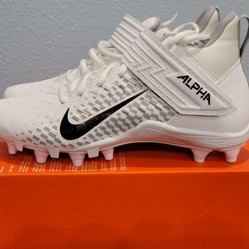 Nike Alpha Menace Varsity 2 white cleats