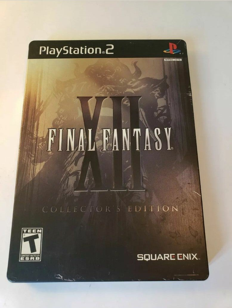 Final Fantasy XII FFXII PS2 Steelbook Co