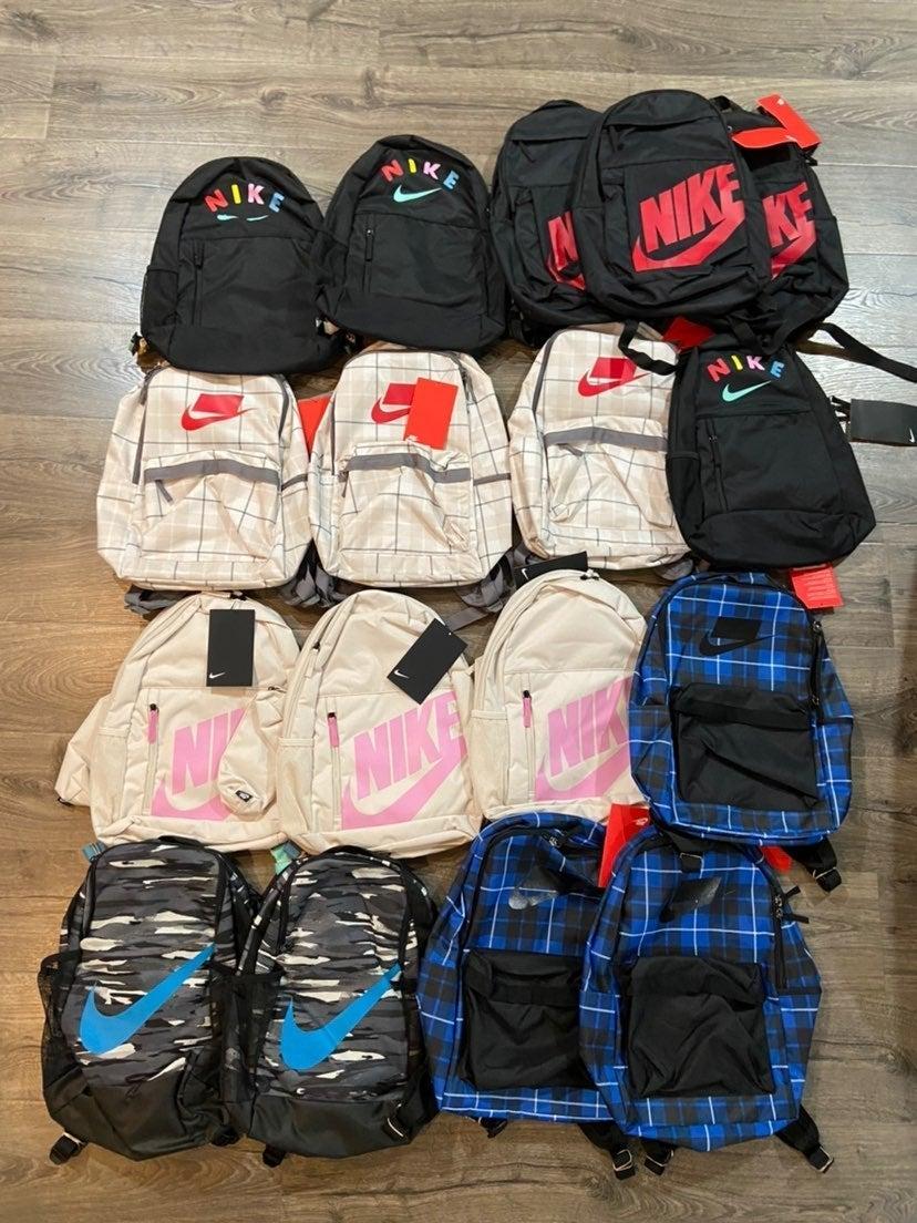 nike backpack nike bag 17 pcs