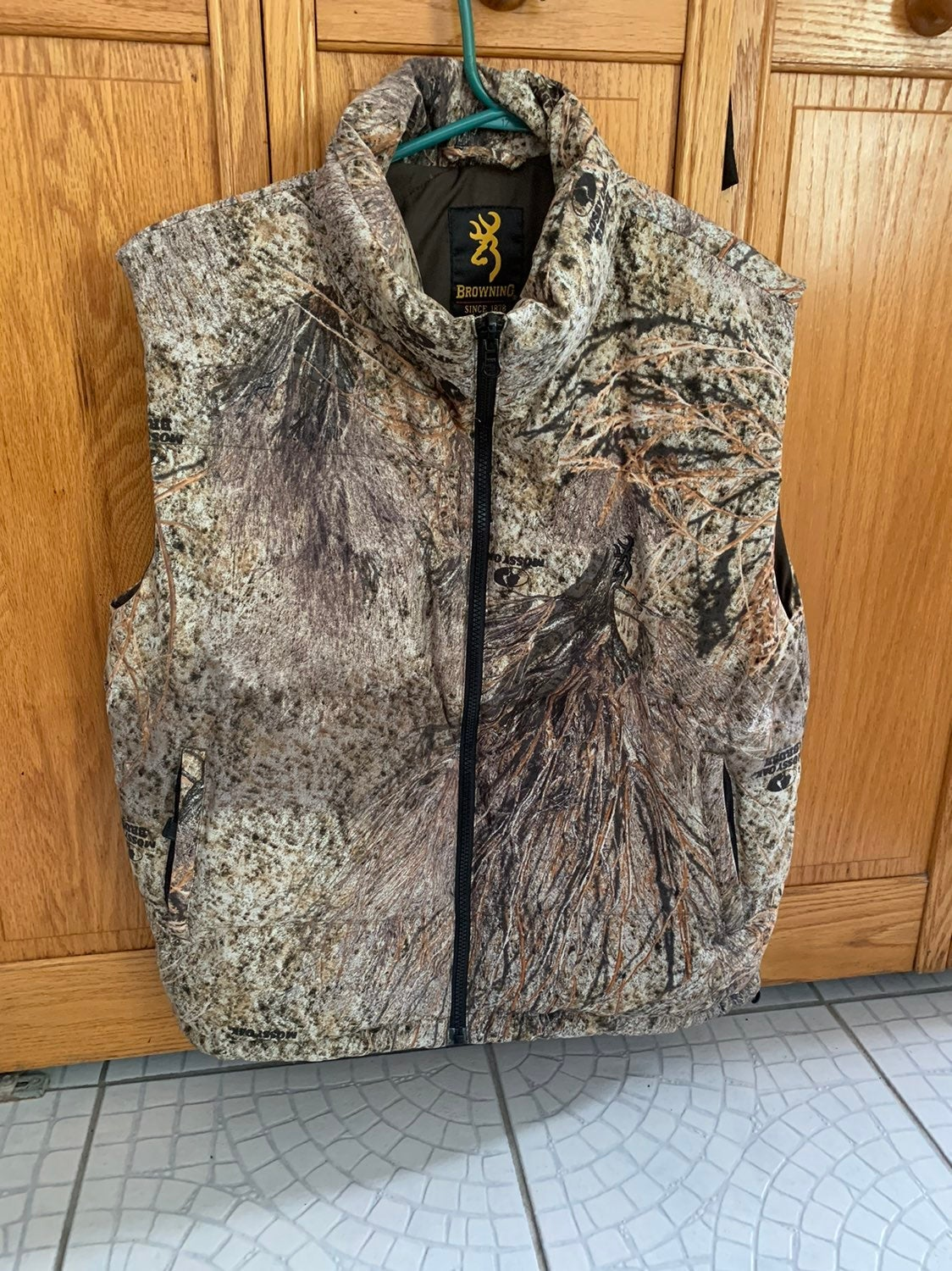 Browning vest camo mens small