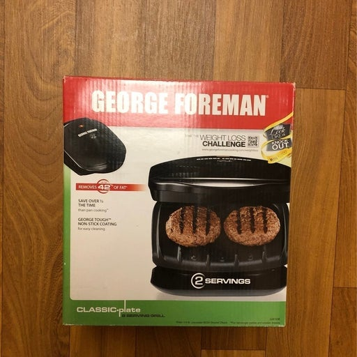 George Foreman Grill Classic Plate 2 Ser