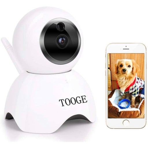 TOOGE Pet Dog Camera Wireless Home Security Camera FHD WiFi Indoor Camera Pet Mo