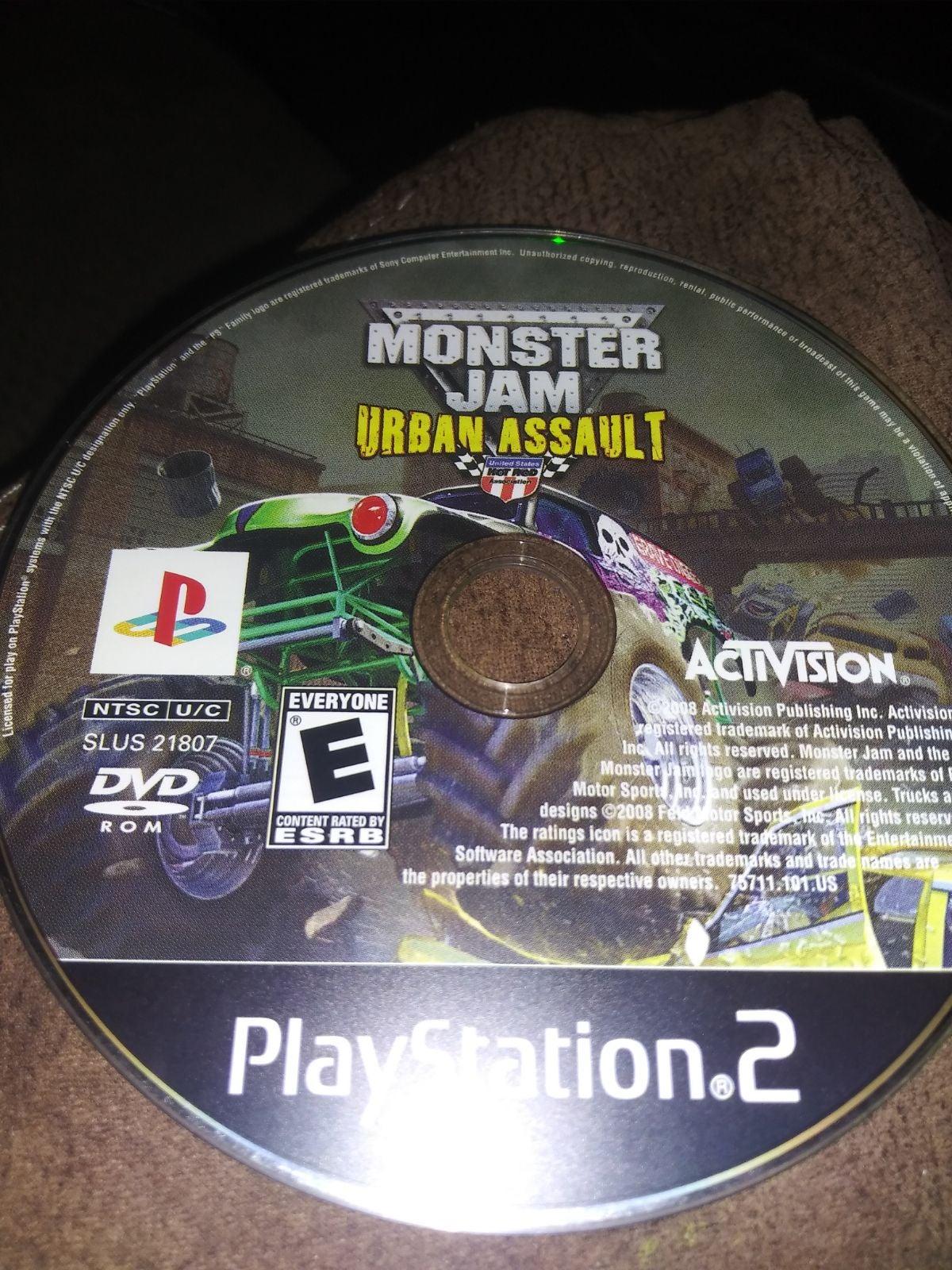 Monster jam urban assault ps2