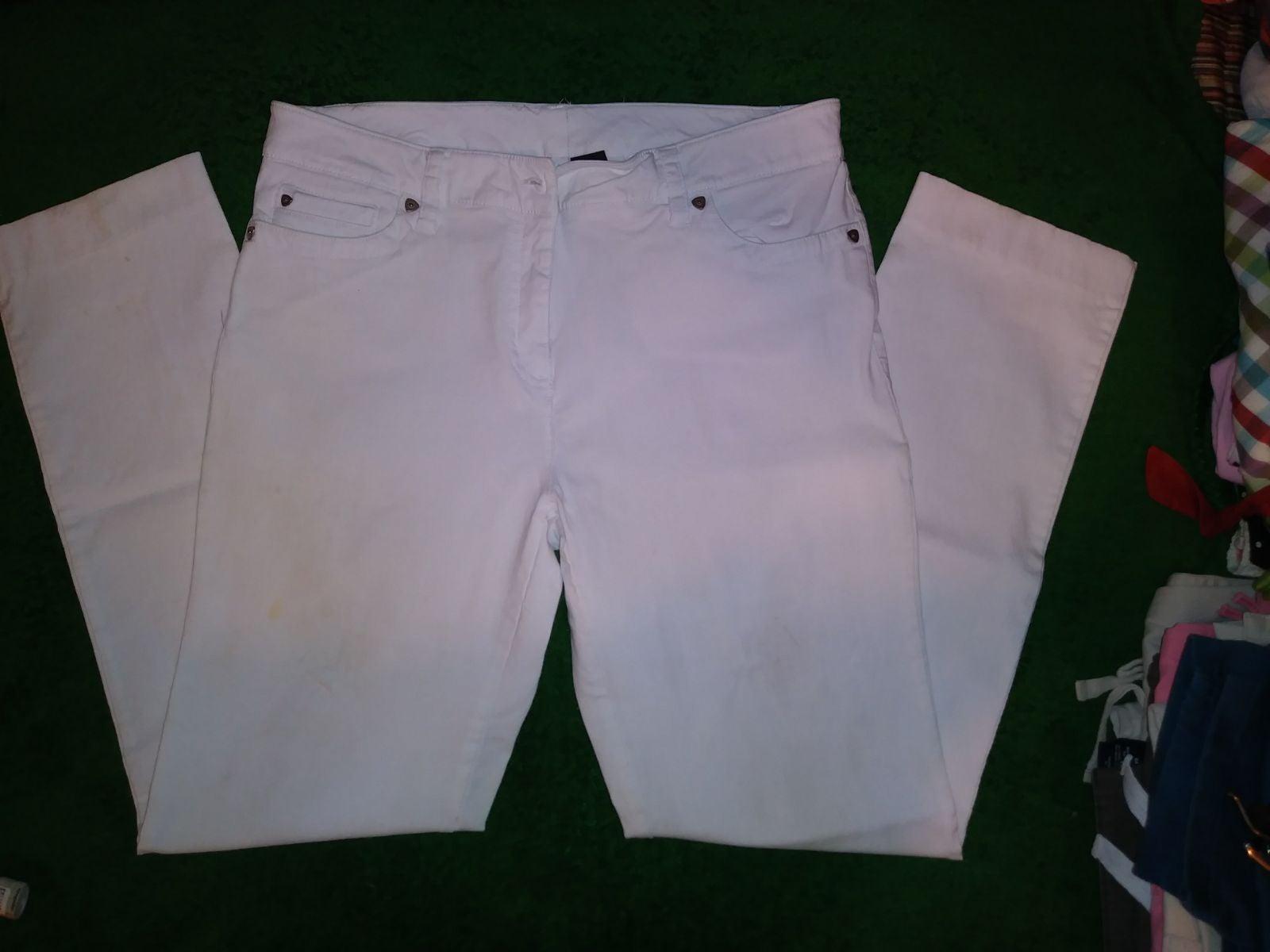 New Direction White Skinny Jeans Sz 12