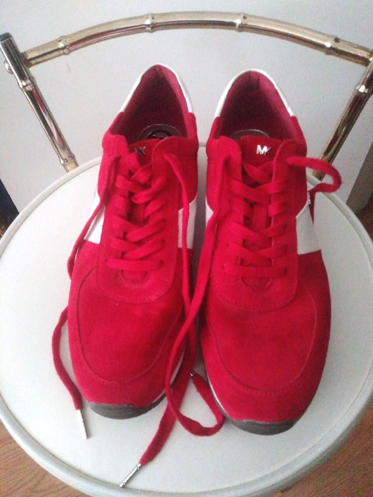Michael Kors Women 11m red sneakers