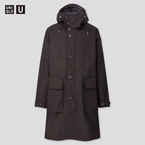 NWOT Uniqlo U Mens Hooded coat 426033