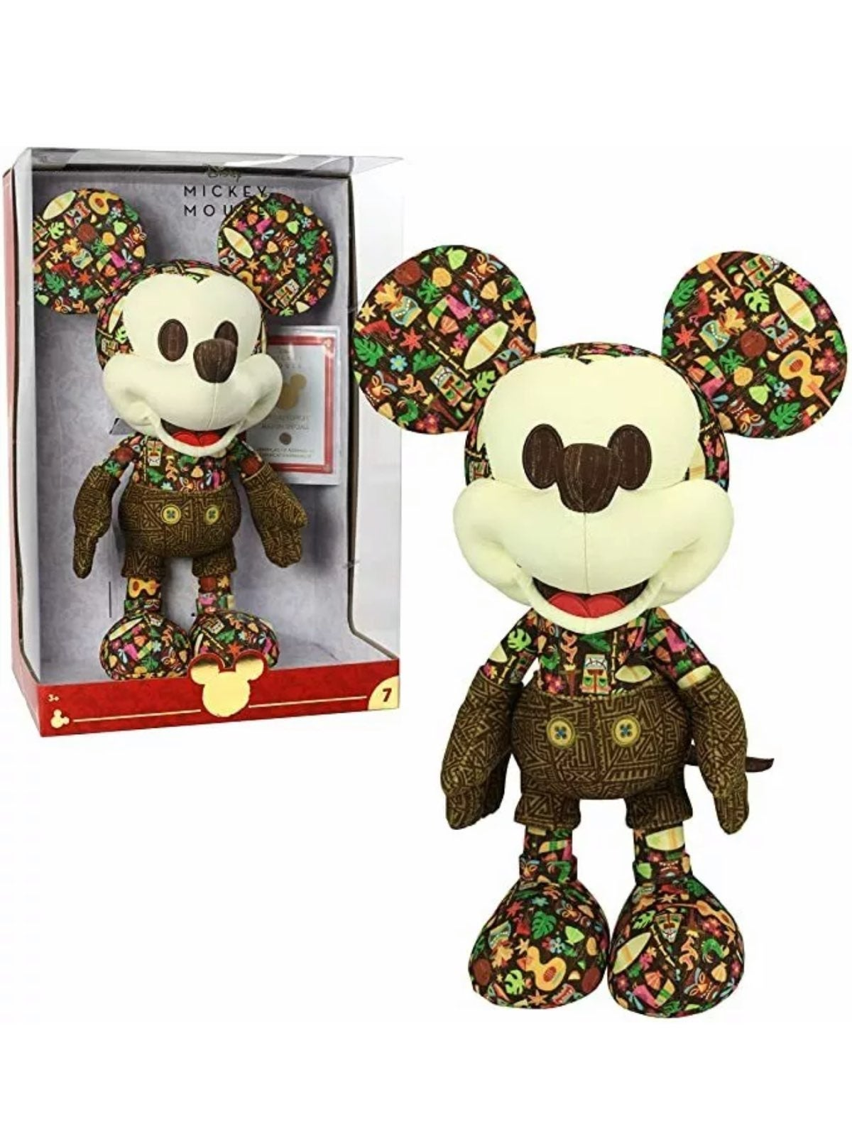 Year of the Mouse Mickey Mouse Plush 7