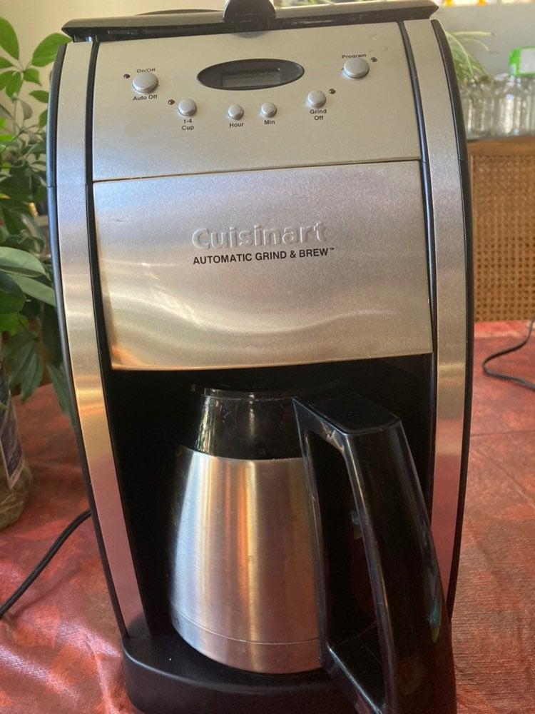 Cuisinart auto gring&brew coffee maker