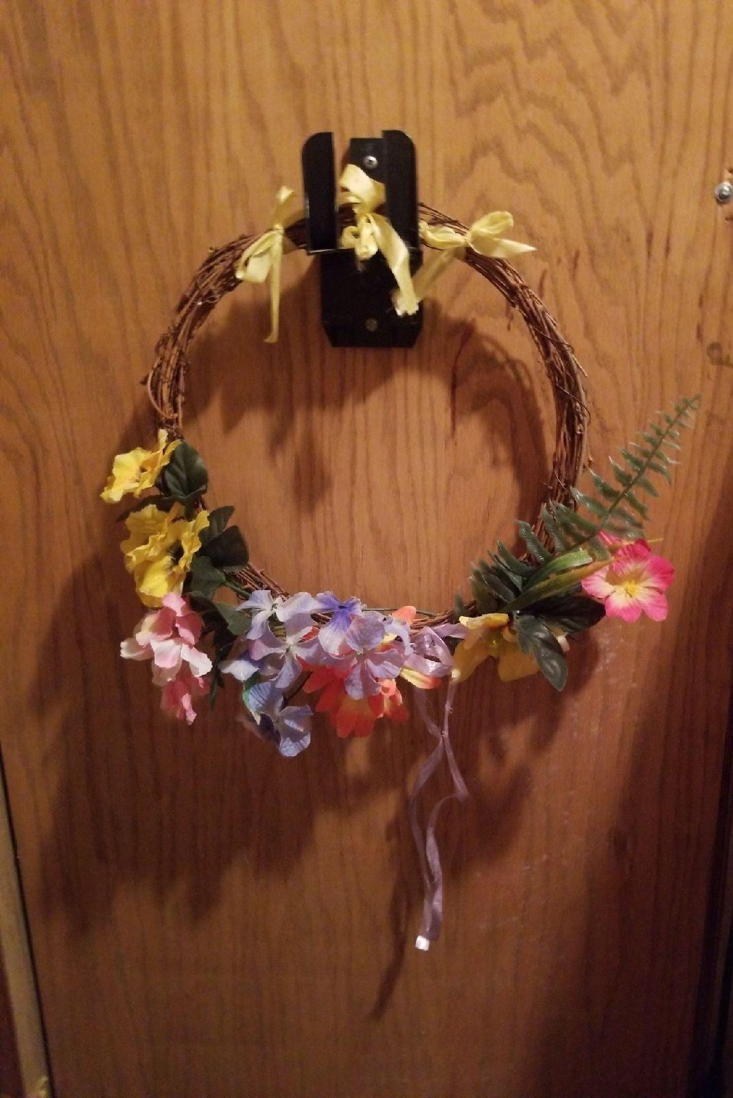 A spring grapevine wreath!