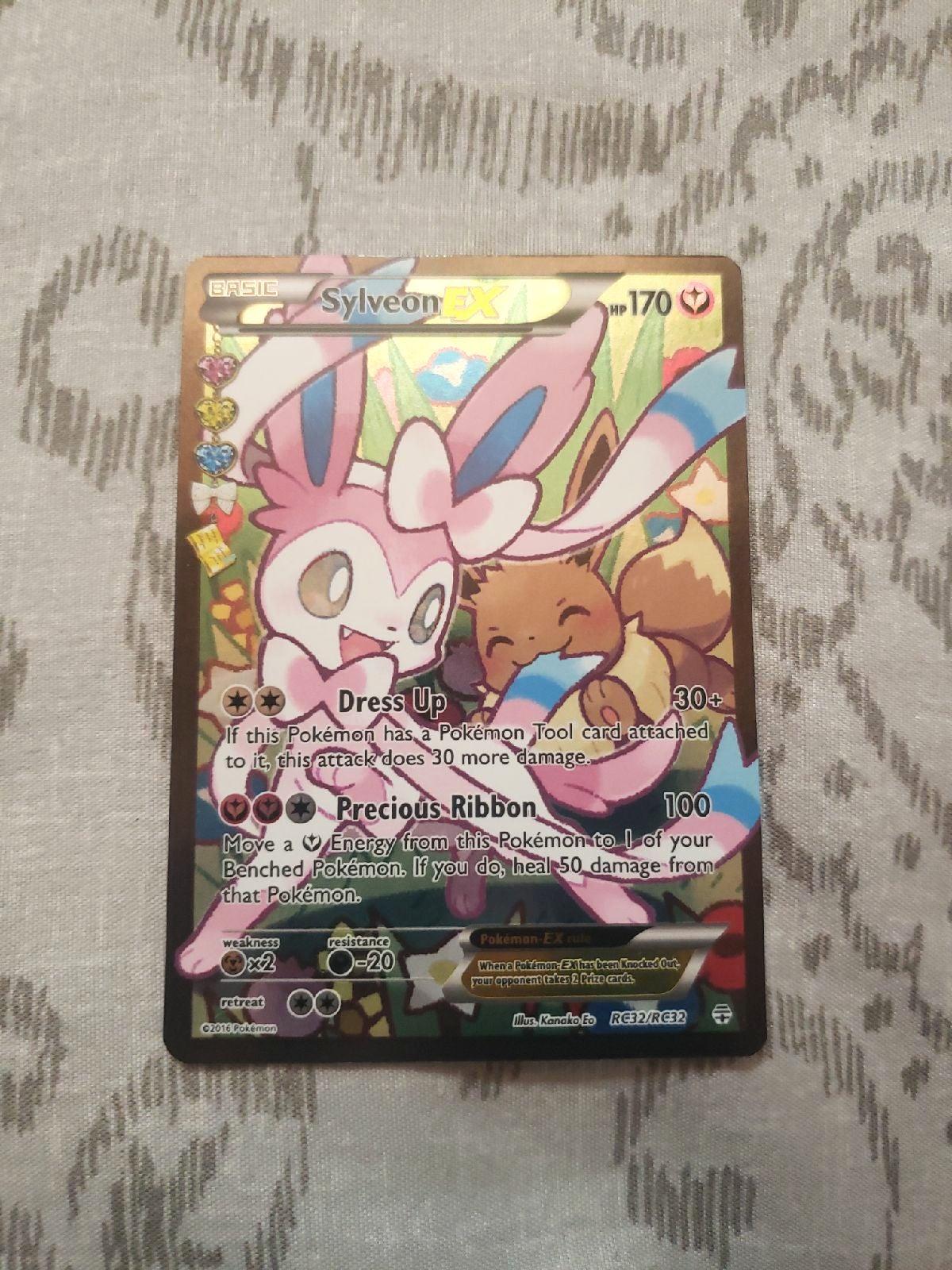 Pokemon Card Sylvain EX (Full Art)