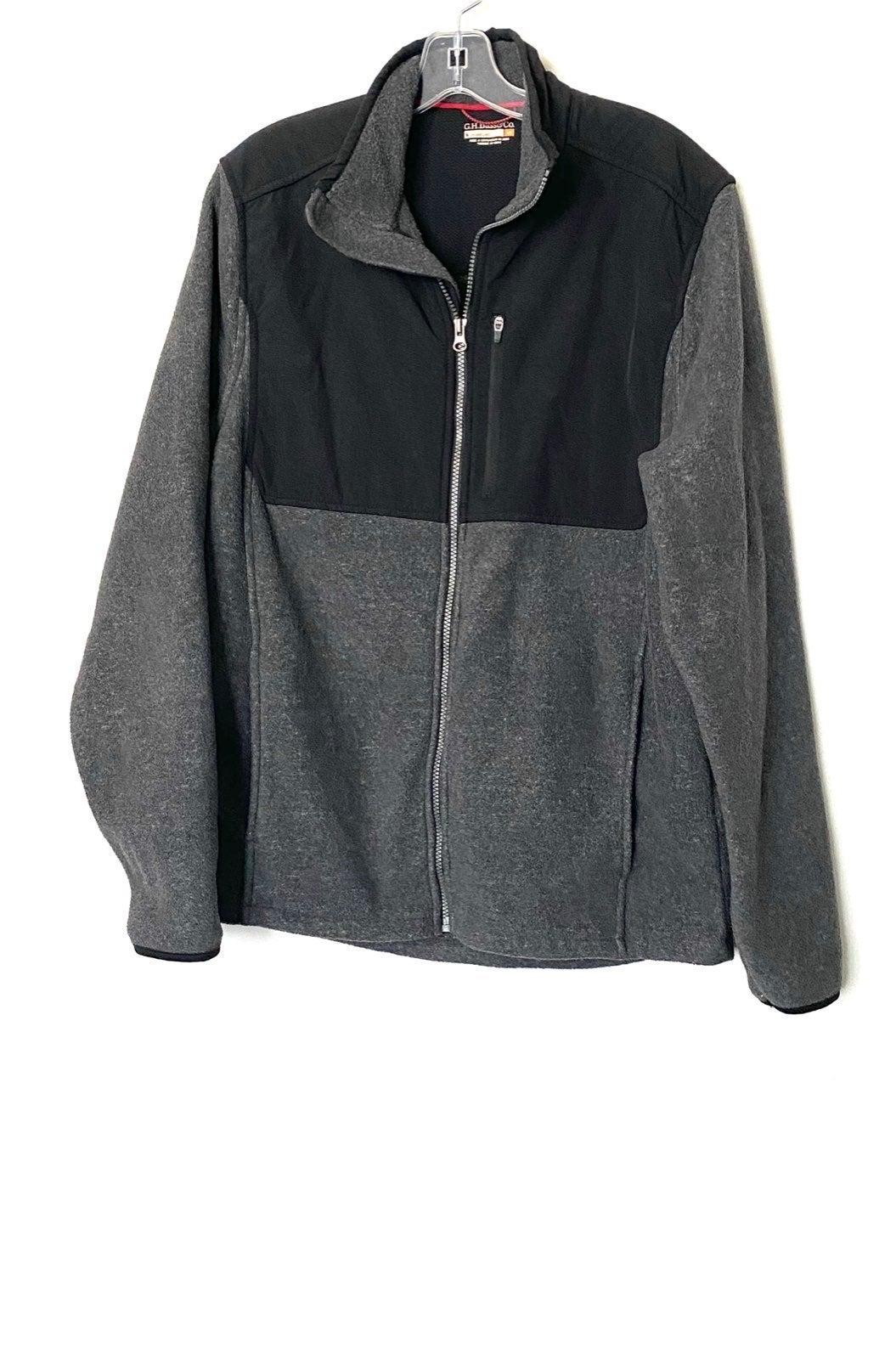 Mens GH Bass Fleece Jacket Sweater Coat