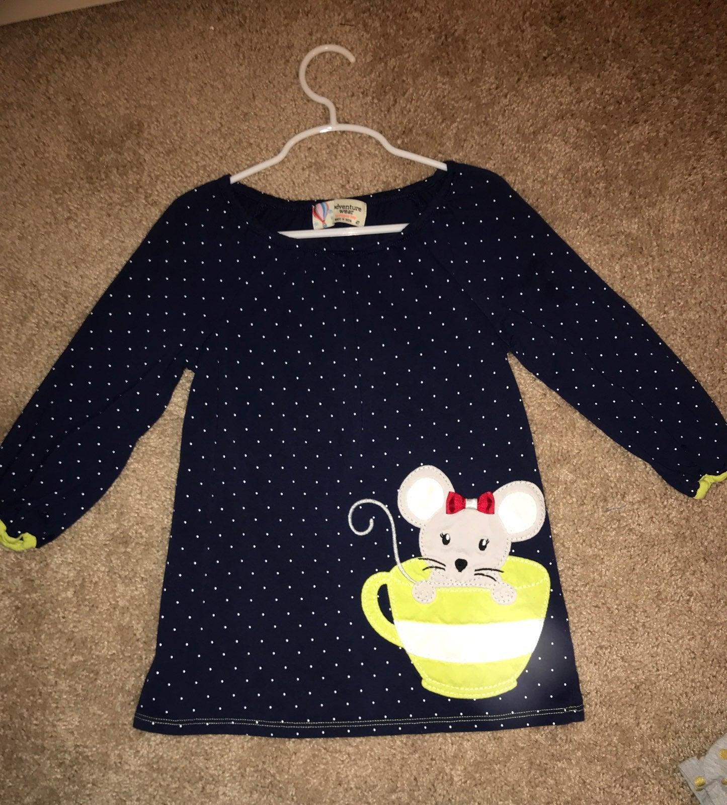 Polka Dot Tunic Size 4t
