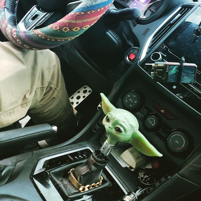 Baby yoda shifter knob